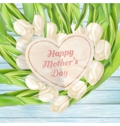 Pink flowers for mothers day EPS 10 vector