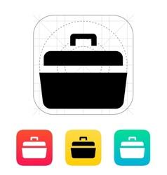 Open case icon vector image vector image