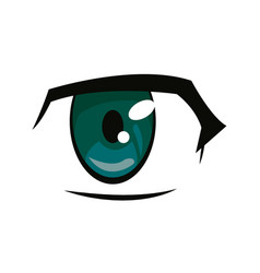 Anime eye manga comic expression image vector
