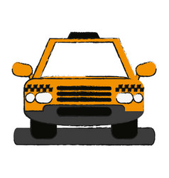 Cab draw vector