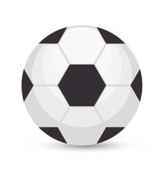 Football brazilian sport emblem vector