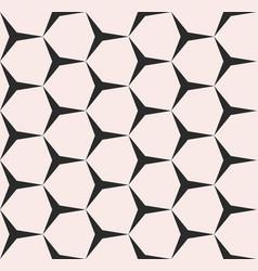 Geometric seamless pattern monochrome texture vector