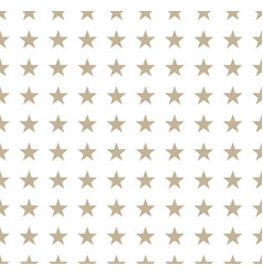 gray stars pattern on white background vector image