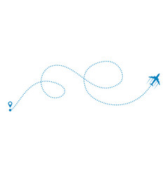 Plane and track vector