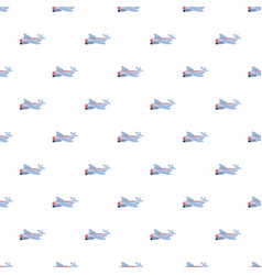 Small plane pattern vector