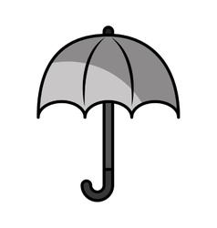 Umbrella protection sign icon vector