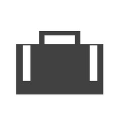 Business briefcase symbol vector