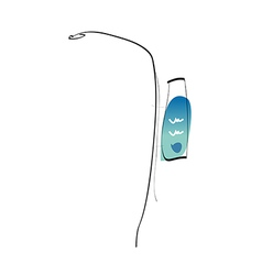 A street light vector
