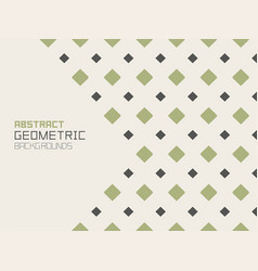 abstract geometric background with rhombuses vector image
