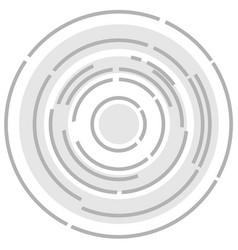 Circular abstract background vector