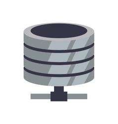 Data center web hosting icon graphic vector