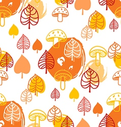 Forest pattern7 vector