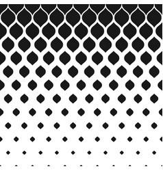 Halftone pattern monochrome geometric texture vector