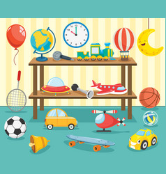 kids toys vector image