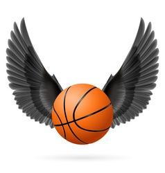 Wings inspiring vector image