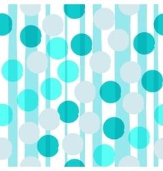 Seamless universal pattern Polka dots circles vector image vector image