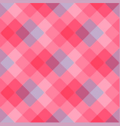 diagonal geometric pattern pink tablecloth vector image vector image