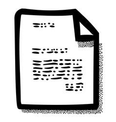 Cartoon image of checklist icon clipboard symbol vector