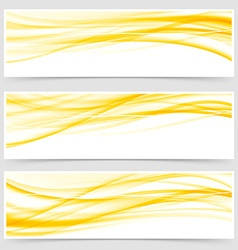 Abstract energy power futuristic bright header set vector