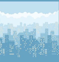 cityscape background of vector image