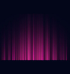 dark background with purple and violet neon lights vector image