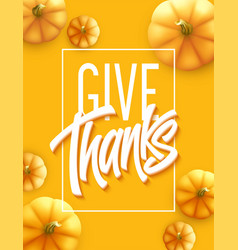 Happy thanksgiving greeting card holiday vector
