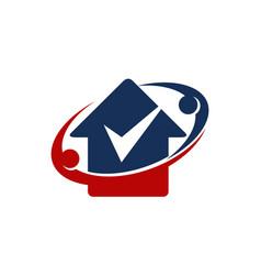 home checklist secure vector image