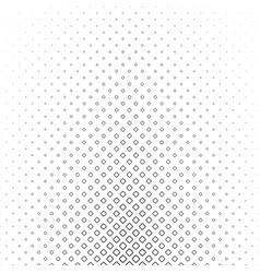 Monochrome square pattern - geometrical abstract vector