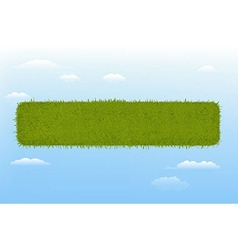 Web Grass Element vector image