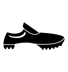 Men sneakers icon simple style vector image