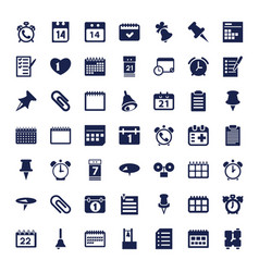 49 reminder icons vector