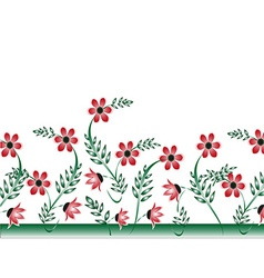 Floral Art background vector
