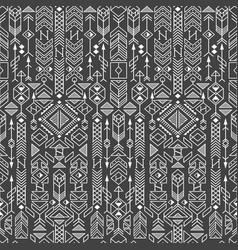 Native ethnic ornament vector