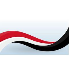 norway waving national flag modern unusual shape vector image