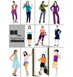 womans fashion vector image