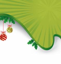 christmas layout vector image vector image