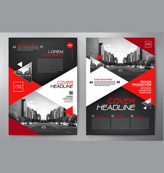 Business brochure flyer design a4 template vector