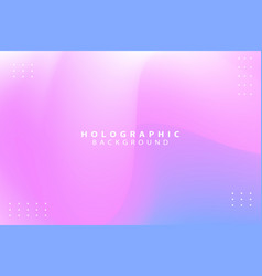 Colorful holographic abstract background vector