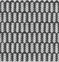Fir branches seamless pattern vector image