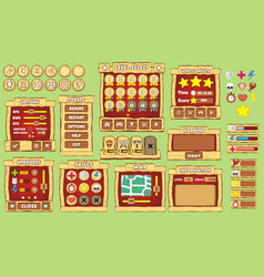 Game gui 40 vector