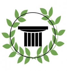Greek symbols vector image