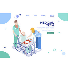 health collection healthcare vector image