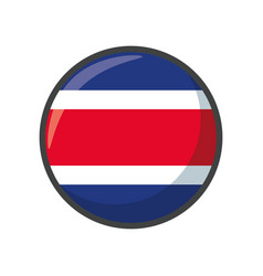 isolated thailand flag icon block design vector image