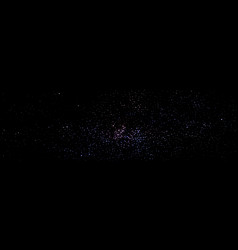 milky way constellation starry sky stars vector image