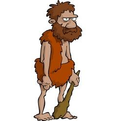 Prehistoric man vector