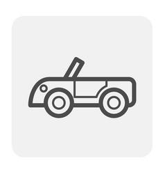 racing car icon vector image