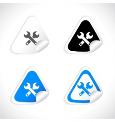 Stickers for web vector vector