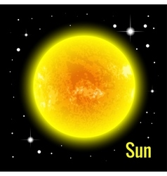 The Sun 3d High quality vector image