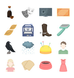 Trade hobbies ecology and other web icon in vector