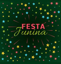 Festa junina latin american holiday festival vector